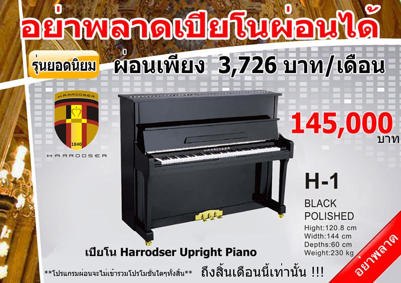 เปียโน Harrodser H1