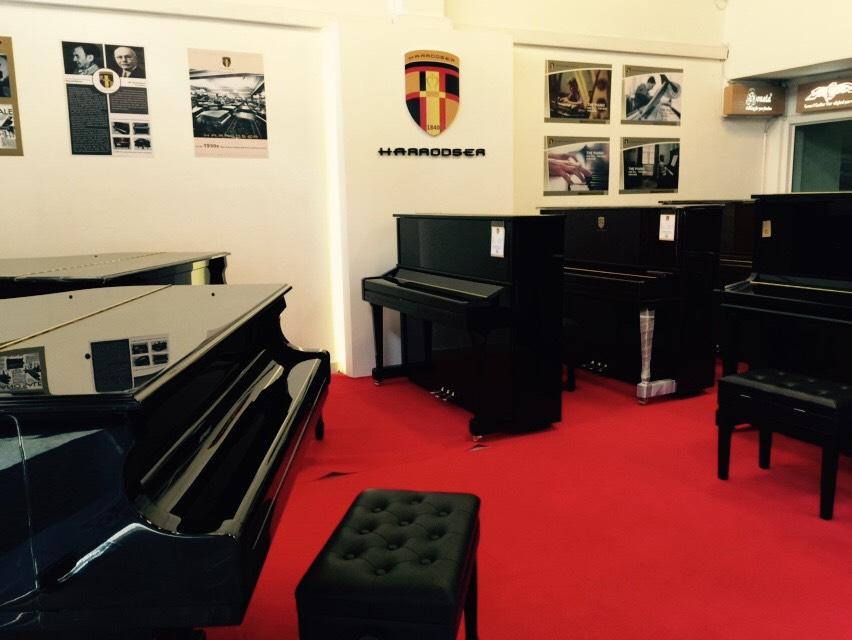 โชว์รูม เปียโน Harrodser Piano Thailand Showroom